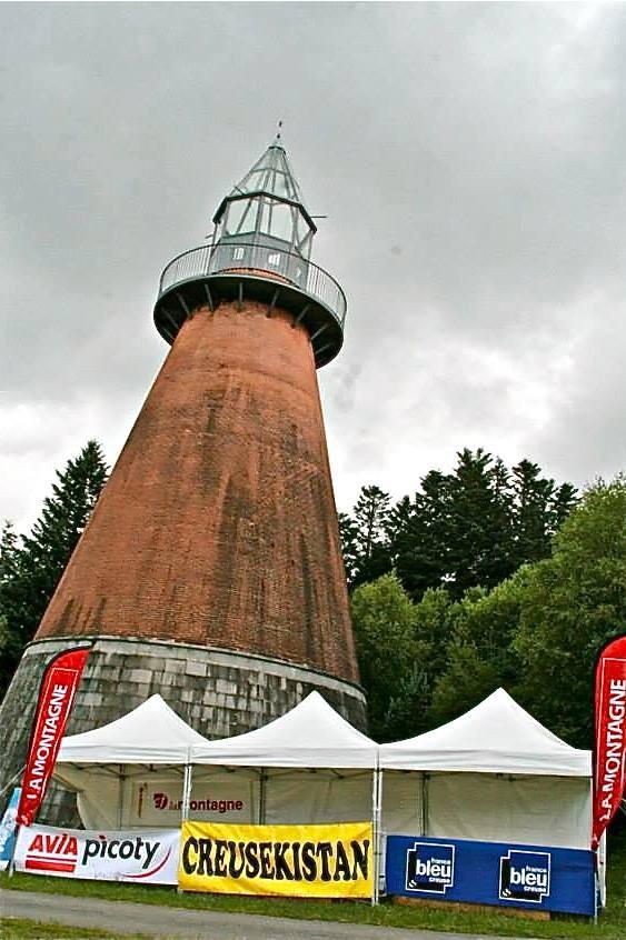 Le phare de l'île de Vassivière.