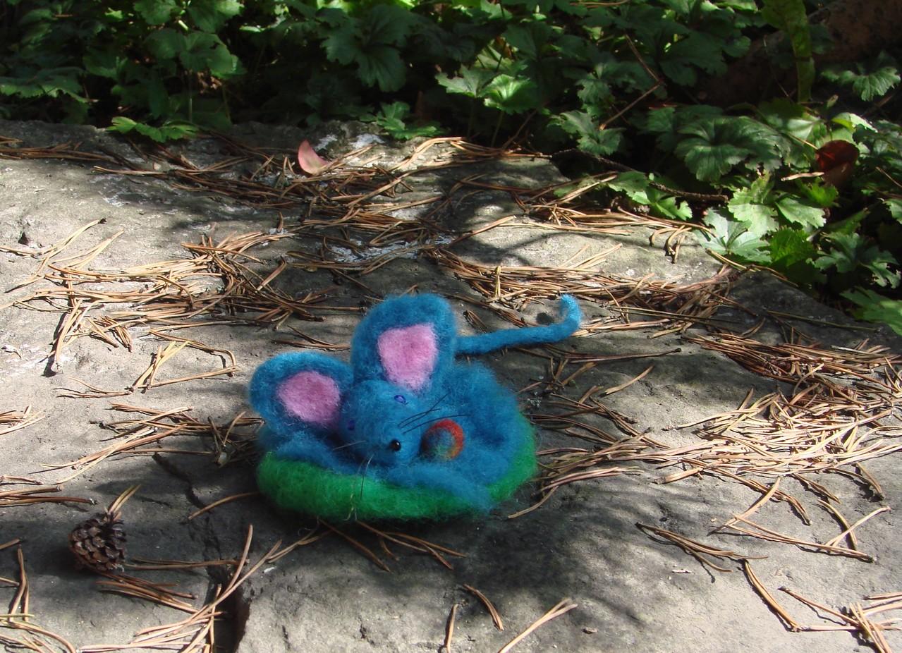 mäuschen im nest
