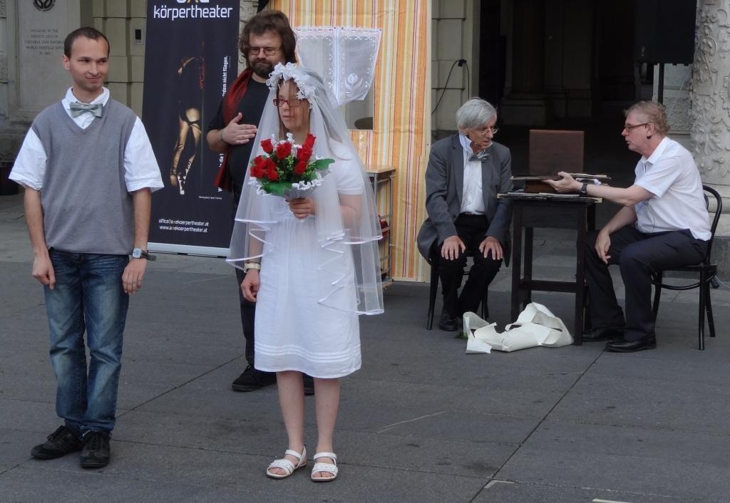 eine unerwartete Hochzeit
