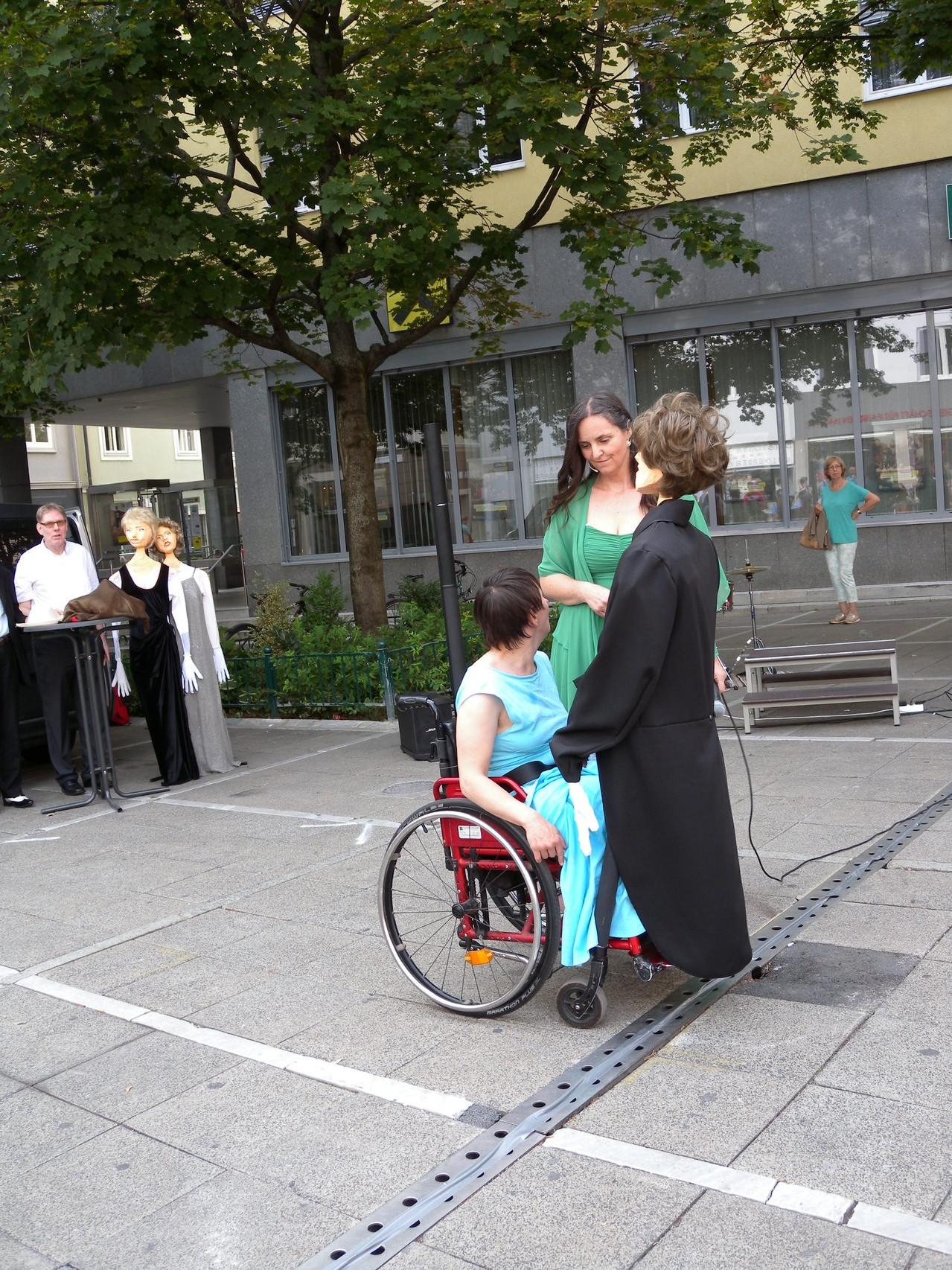 Elsiabeth Latzer, Florentin Holzbirn und Brigitte Pardon