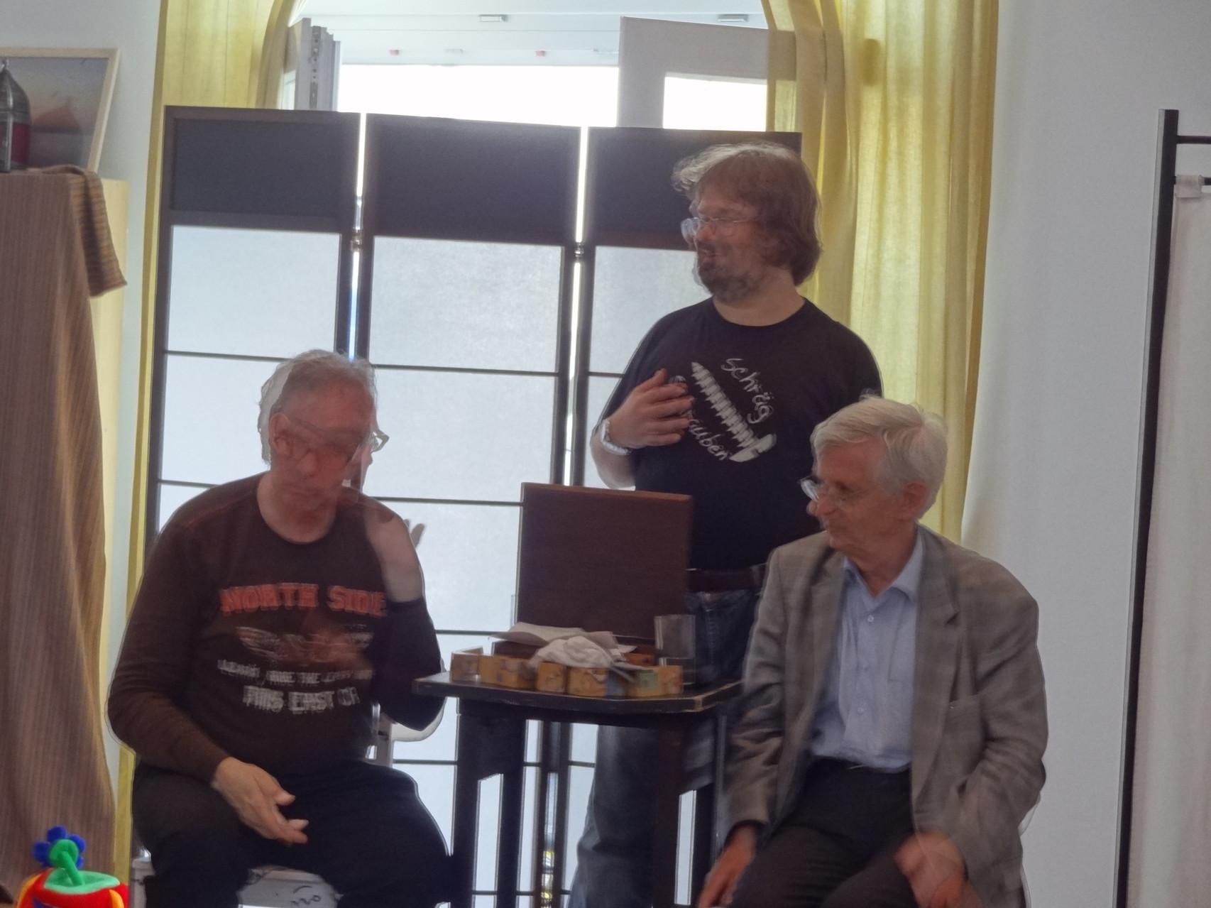 Kabarett mit Georg Greisler