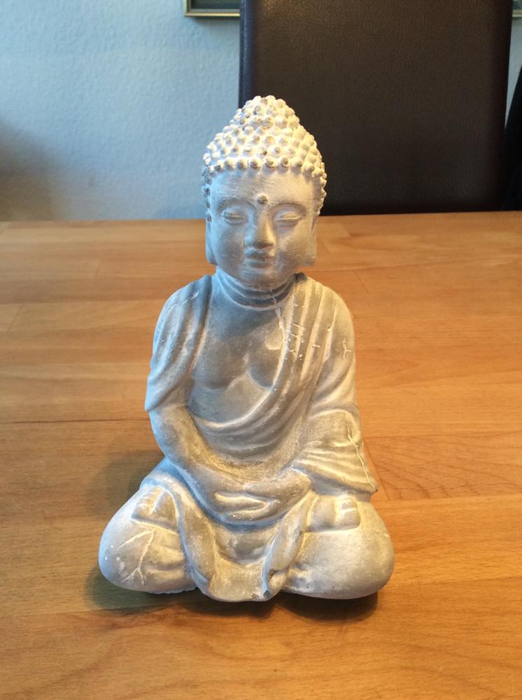 Buddha 16 gefaltete Hände - Latexform