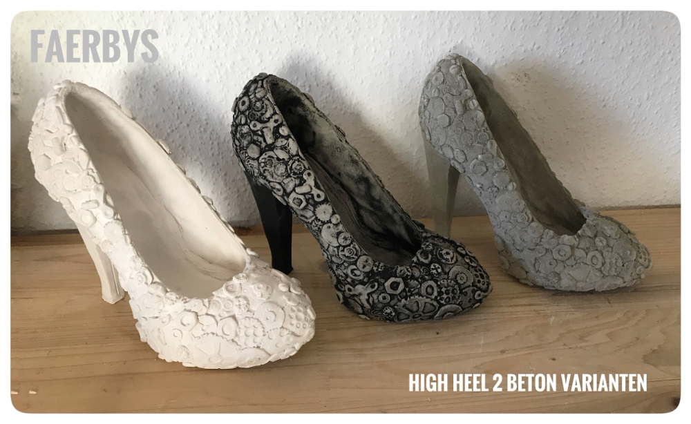 High Heel 2 aus Beton
