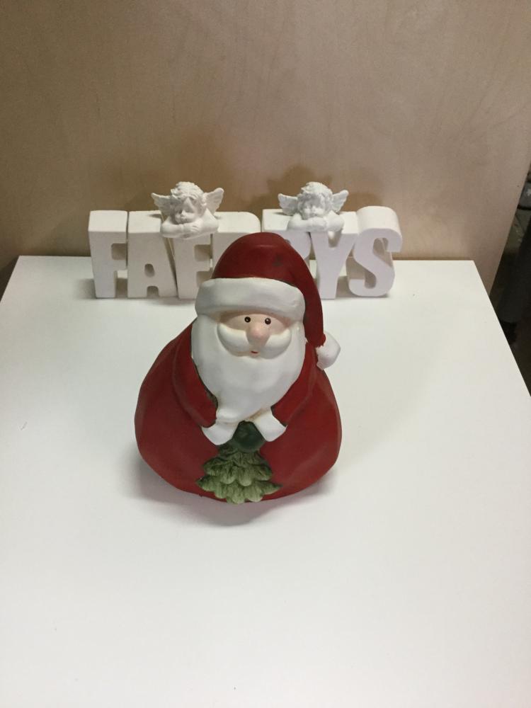 Latexform Weihnachtsmann - Gussform Beton