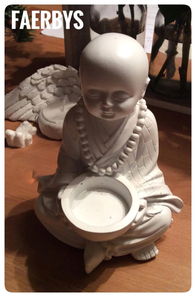 Kleiner Teelicht Buddha - Giessform aus Latex