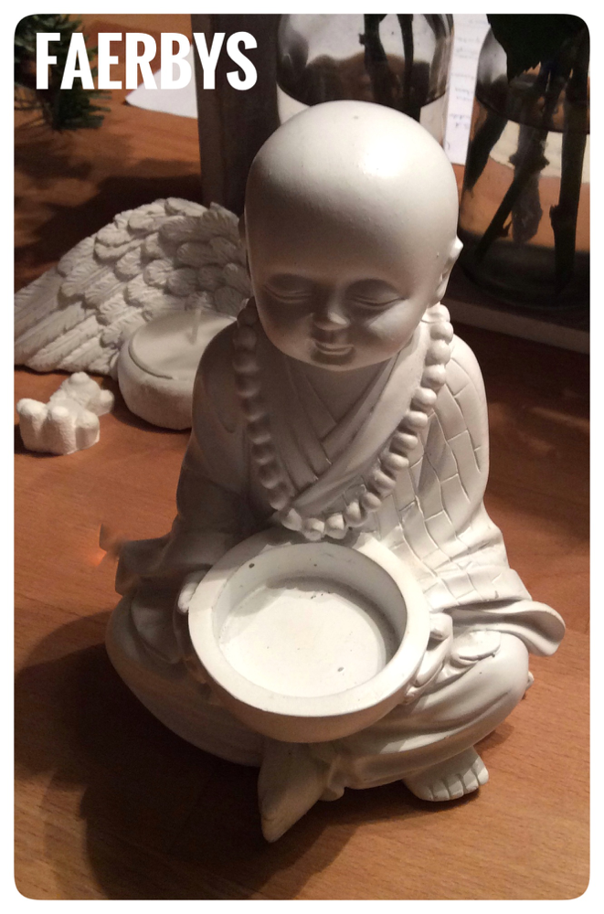 Gussform Beton Buddha