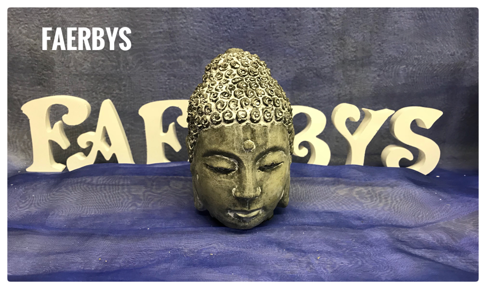 Buddha Kopf - Beton Gussform