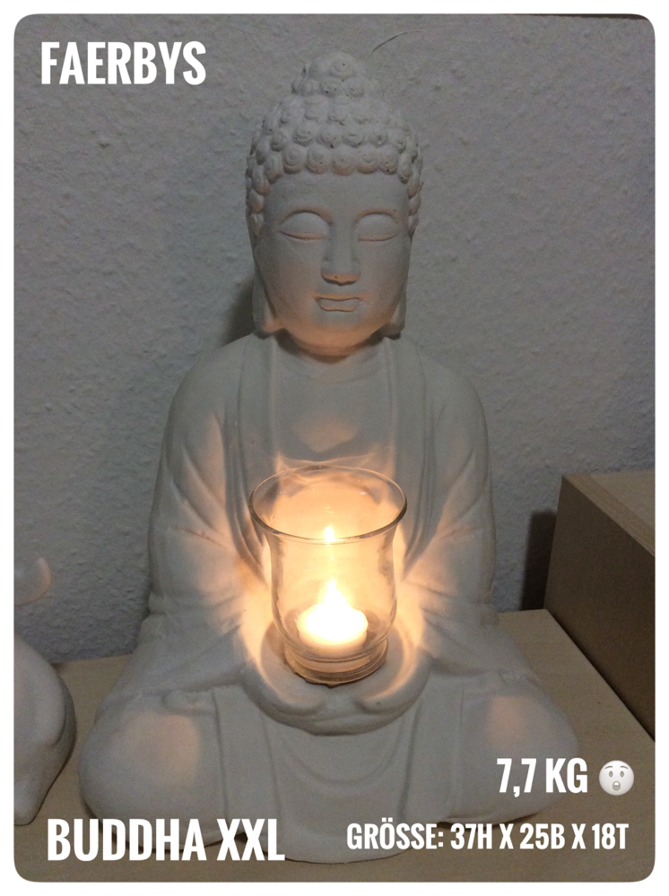 Buddha XXL - Latex Gussform