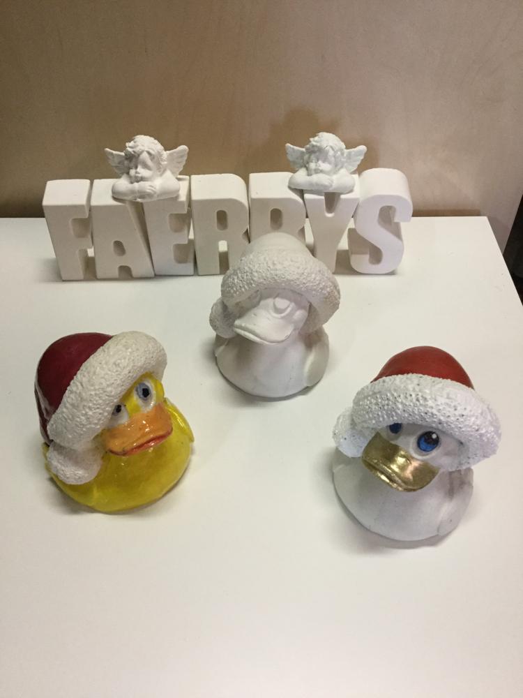 Silikonform Weihnachtsenten
