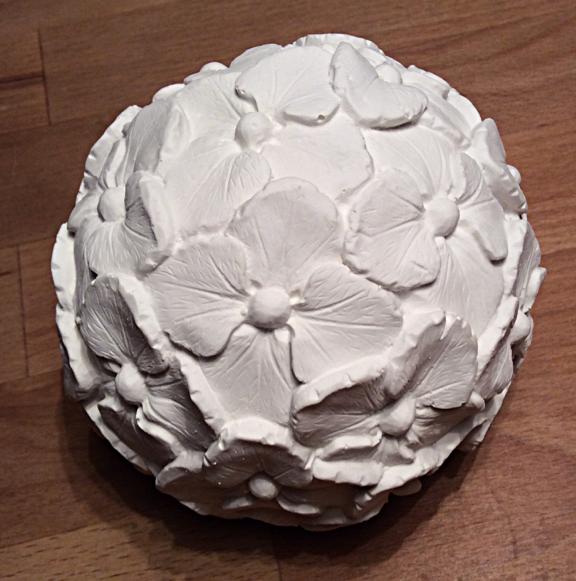 #hortensien #gussform Beton #concrete mold #gießform Beton # gießform Hortensienball