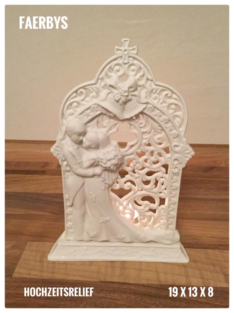 Hochzeit Relief Kerzenlicht Gussform