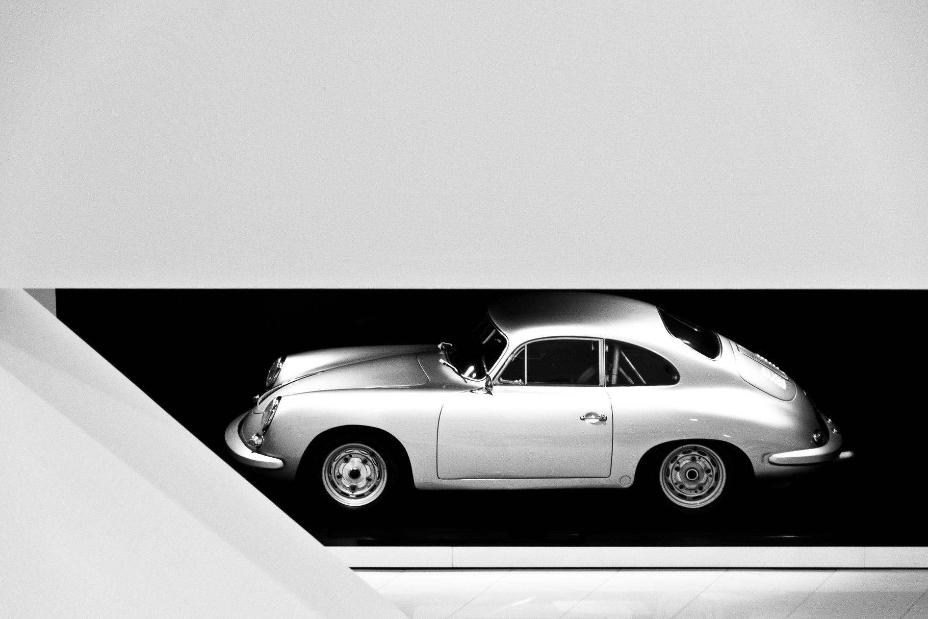 Porsche 356; 75cm x 50cm; Fotodruck auf Acrylglas; 12