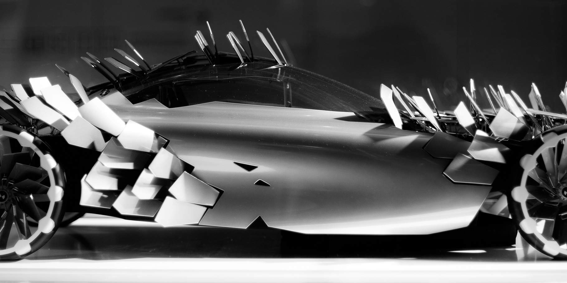 BMW Lovos; 60cm x 30cm; Fotodruck auf Acrylglas; Auflage 12