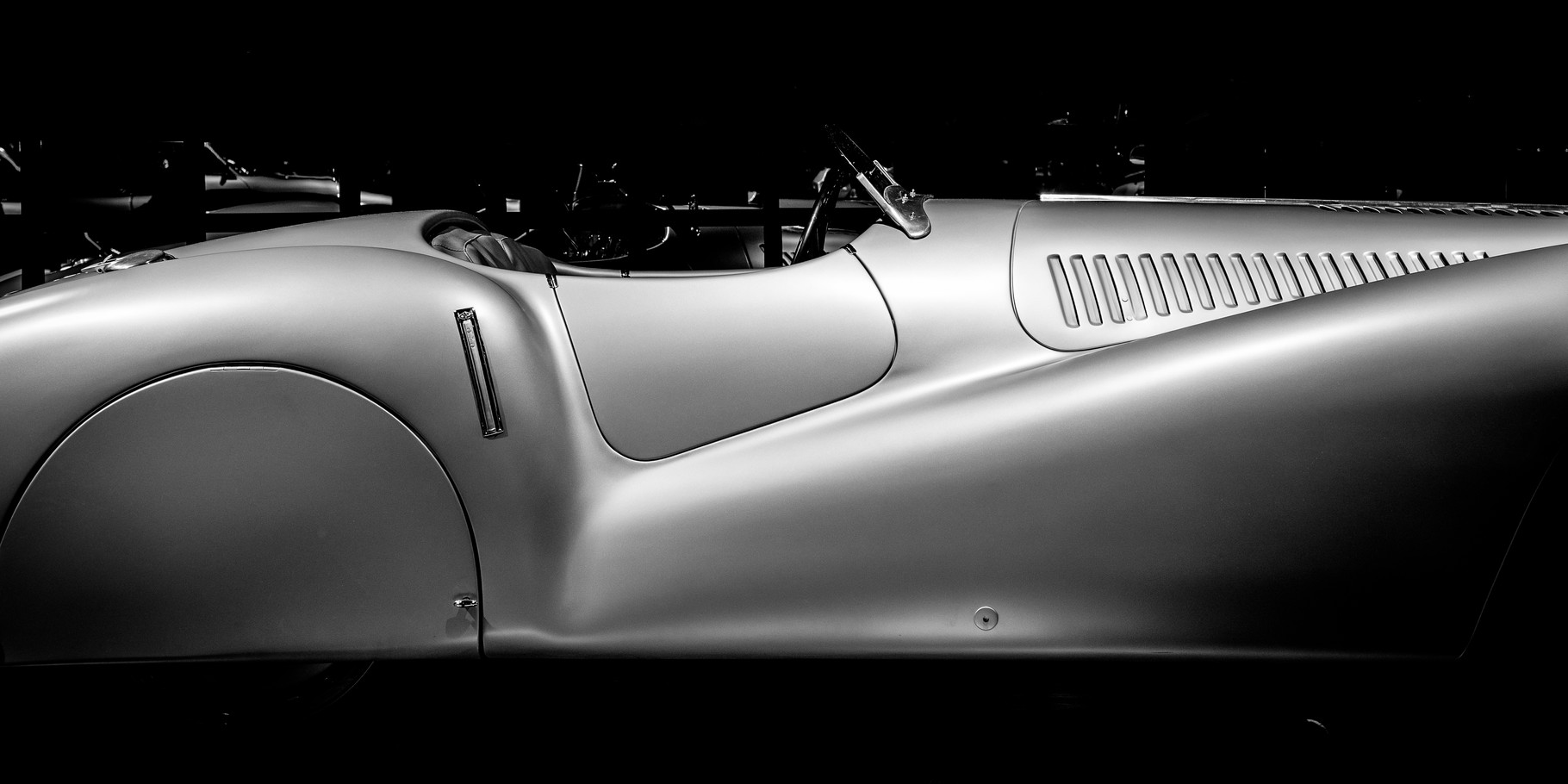 BMW 328 Mille Miglia; 60cm x 30cm; Fotodruck auf Acrylglas; Auflage 12