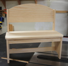 toddler bench (unfinished)