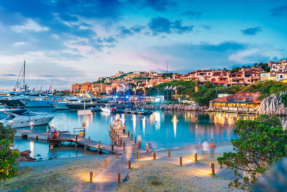 Porto Cervo - das ultimative Segelzentrum an der Costa Smeralda.