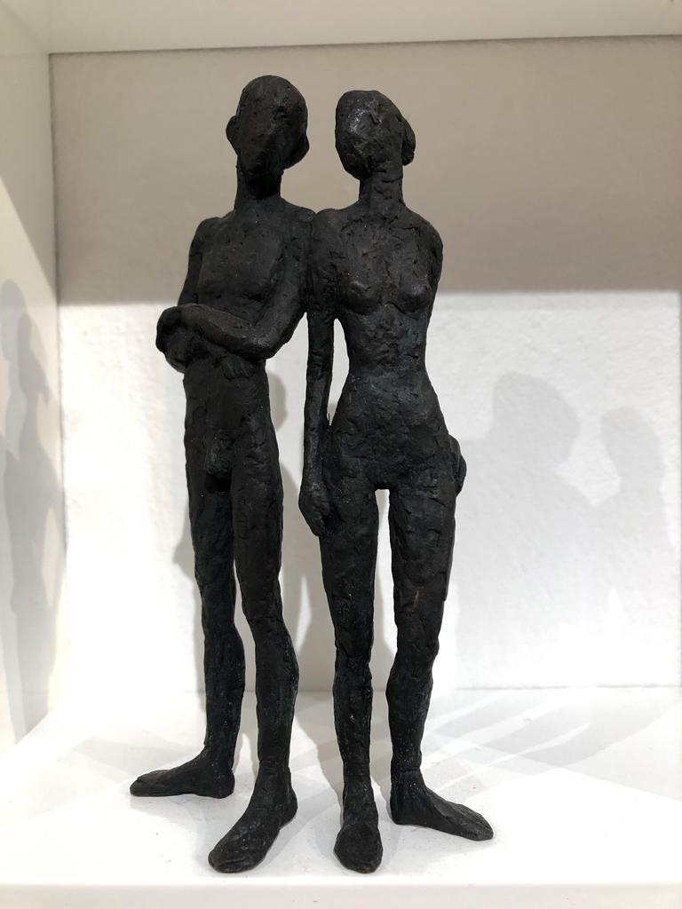Wunderschöne Figurengruppe (Eisenguss)