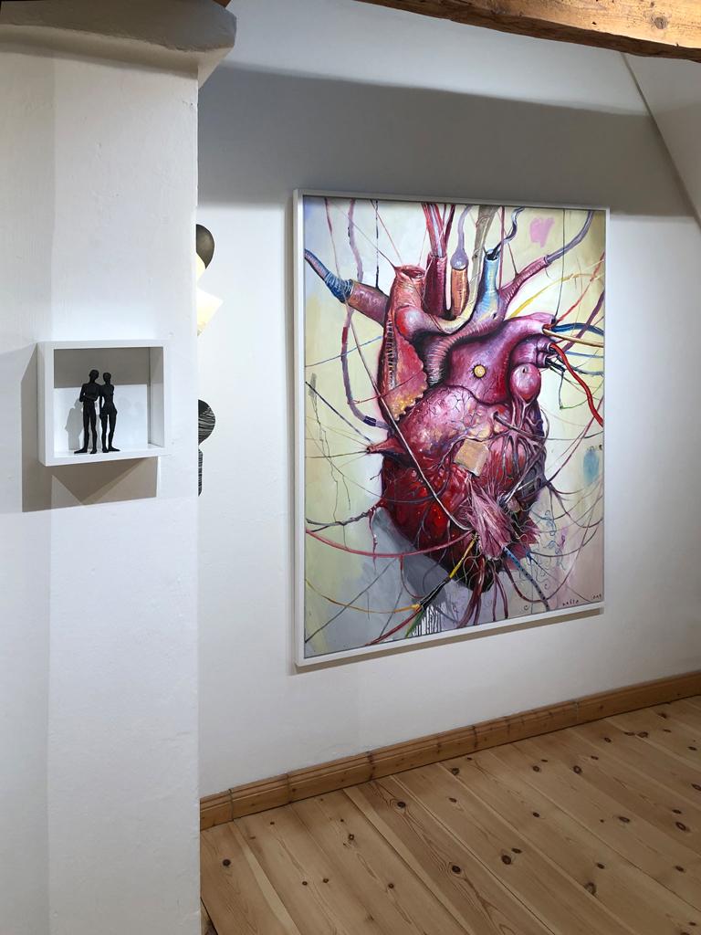"""Besuch in der """"Goldwerk Galerie""""."""