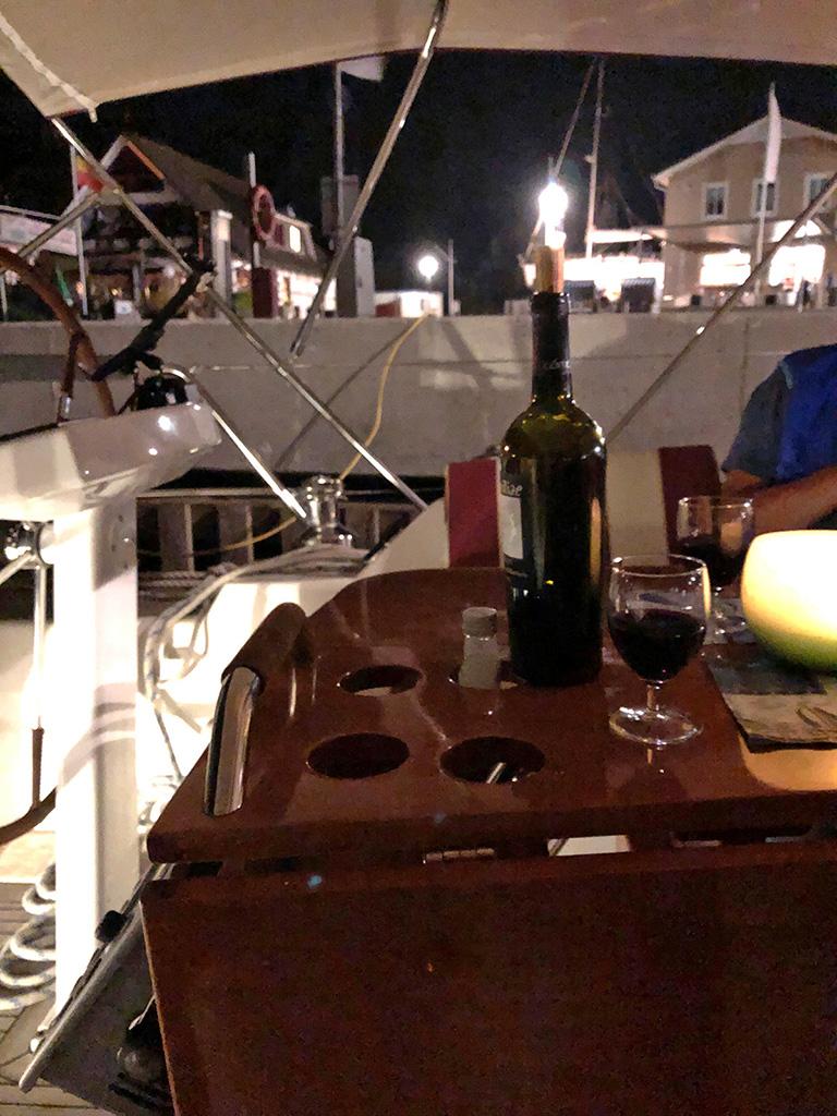 Ein Glas Rotwein soll ja gesund sein!