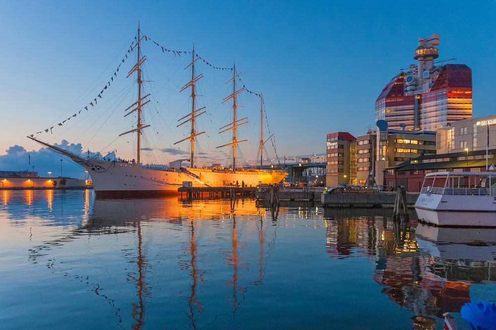 Göteborg - das kenne ich von früher. Vieleicht fahren wir durch den Göta-Kanal.