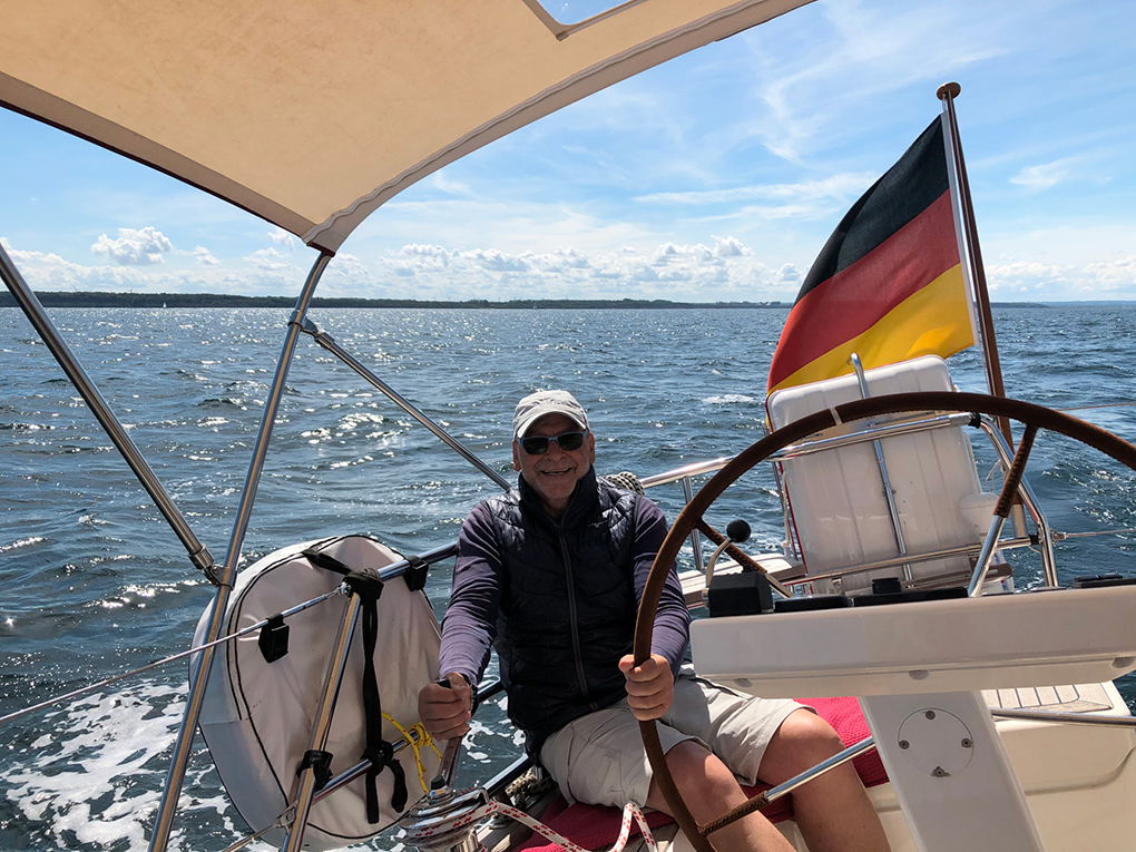 Easy Sailing nach Rostock.
