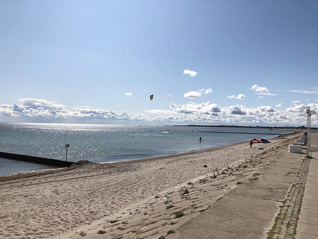 Herrlicher Blick über die Ostsee. Dieses Segelrevier hat uns beeindruckt