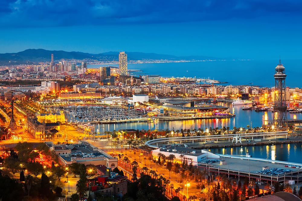 Barcelona - eine sehenswerte Stadt, die Stadt von Goudi - Sagrada Familia und und ...