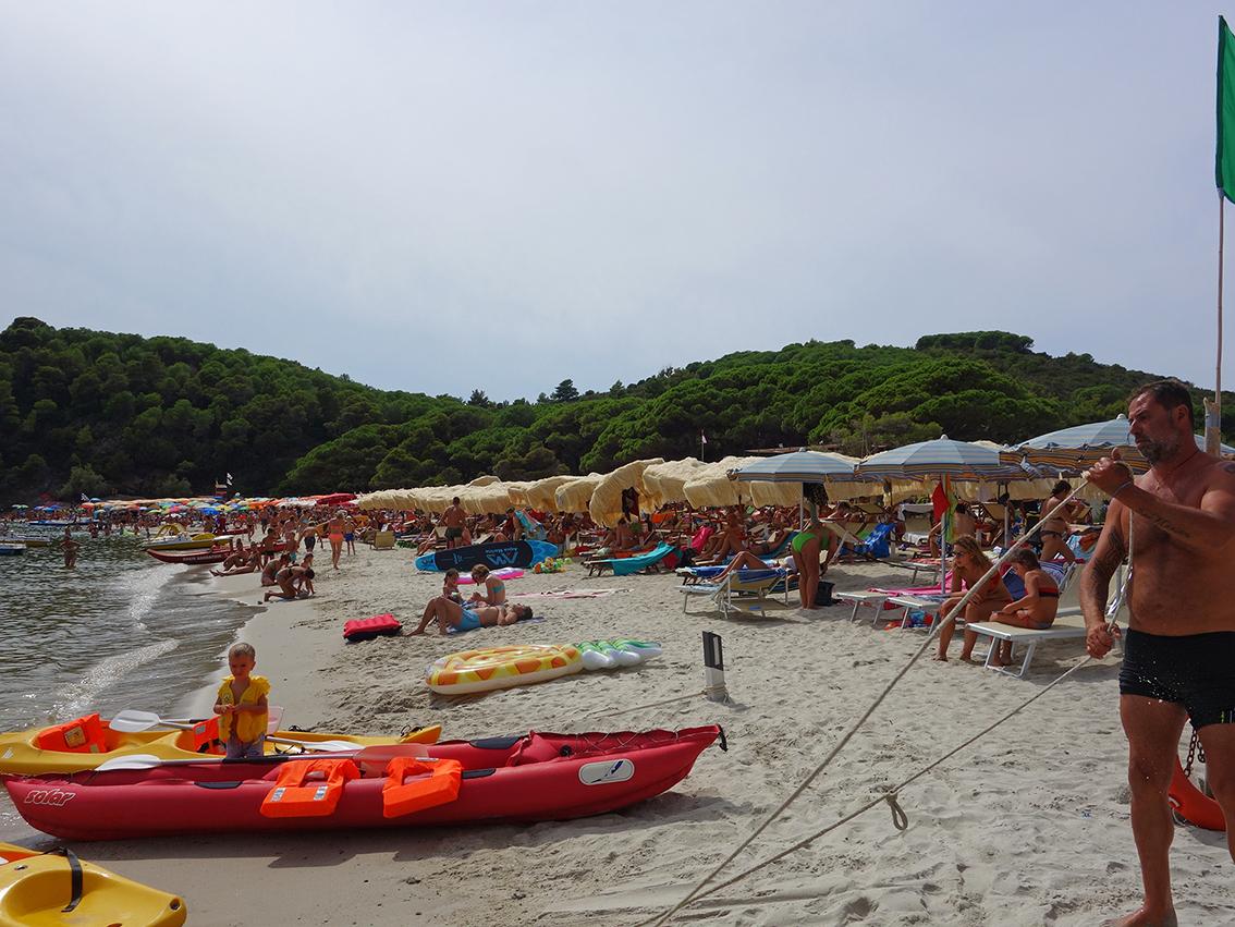 Strandleben - nichts für uns