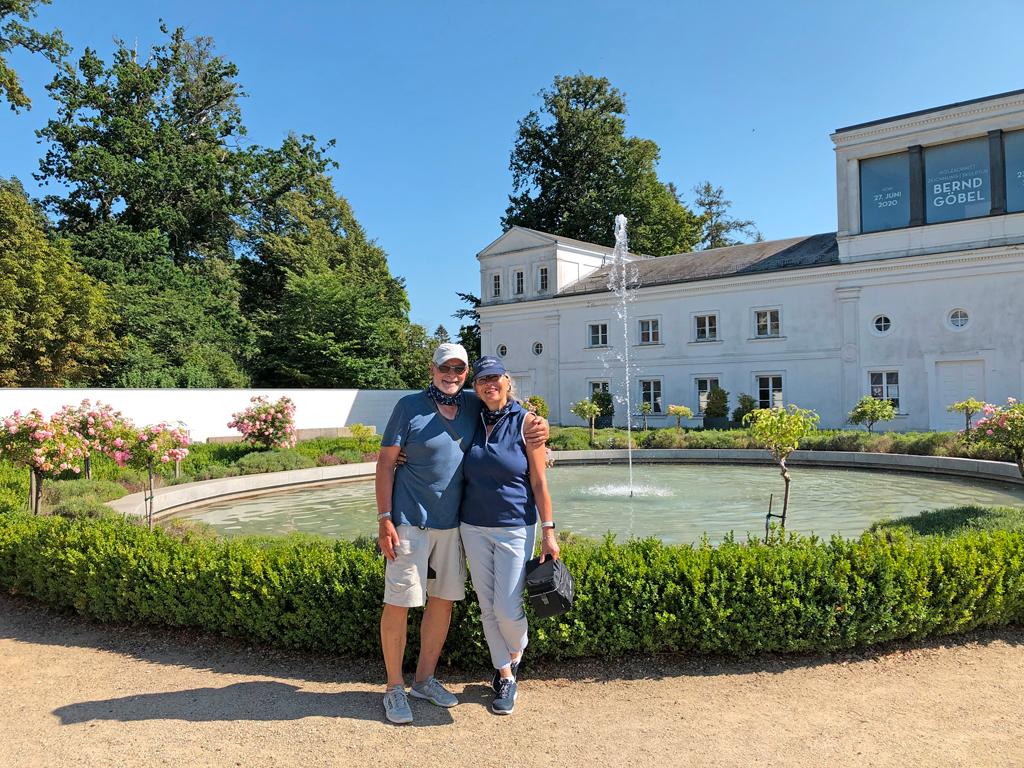 Besuch des Schlossgartens von Putbus.