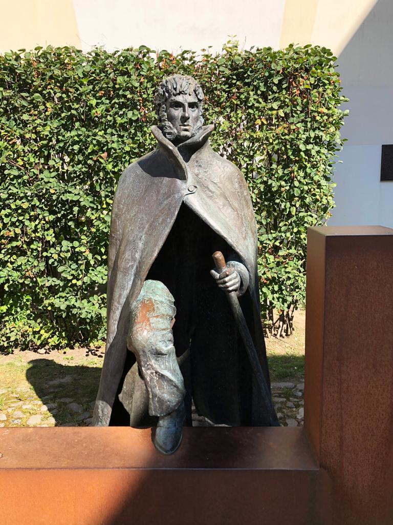 Caspar-David Friedrich-Denkmal. Wir machten eine Führung mit. Auf den Spuren von CDF. Empfehlenswert.