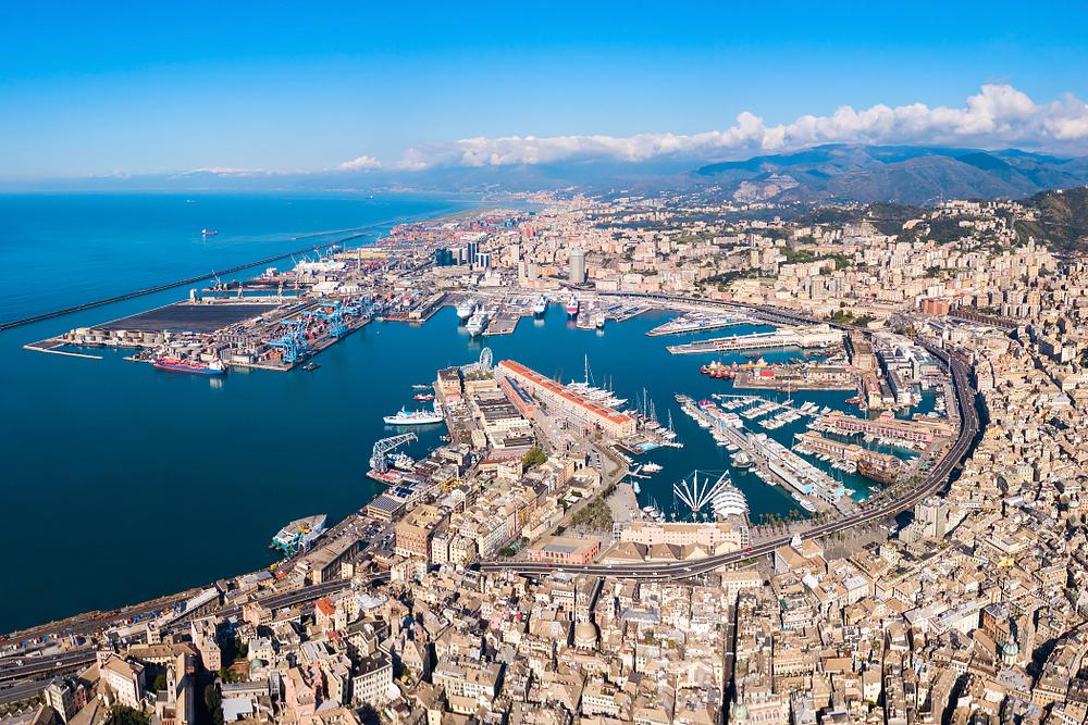 Genua - Stadt des Kolumbus. Das Tor zum westlichen Mittelmeer, unzählige Seefahrer sind von hier gestartet.