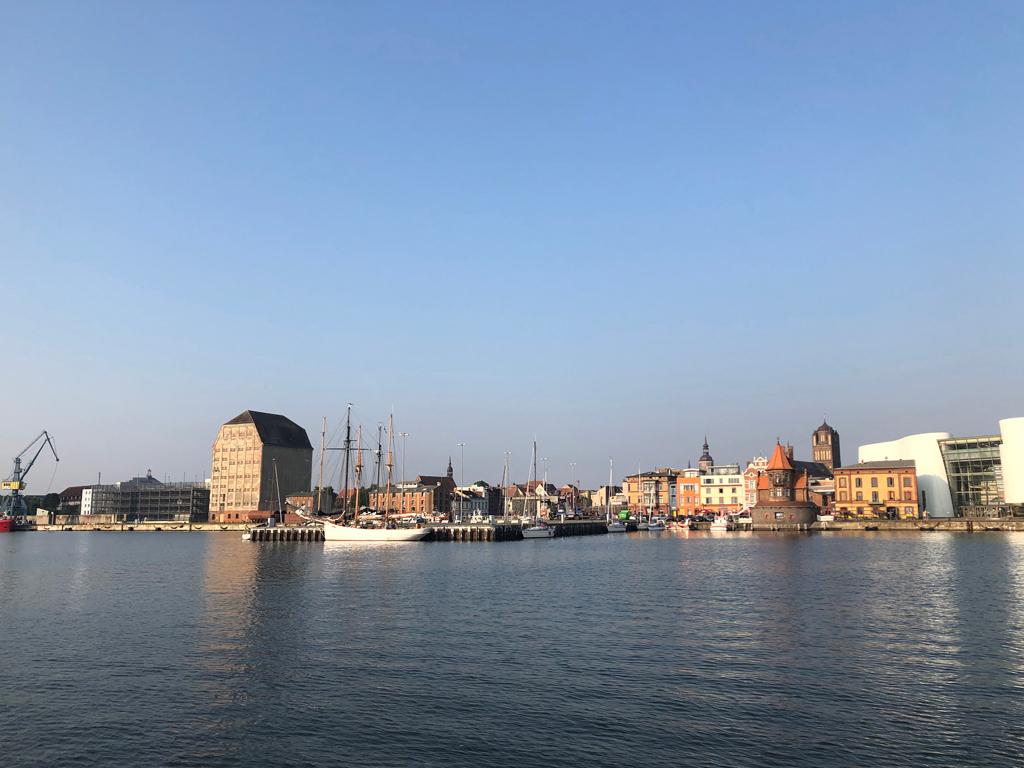 Stralsund adieu - es waren 5 wunderbare Tage die wir hier verbrachten - wir kommen wieder.