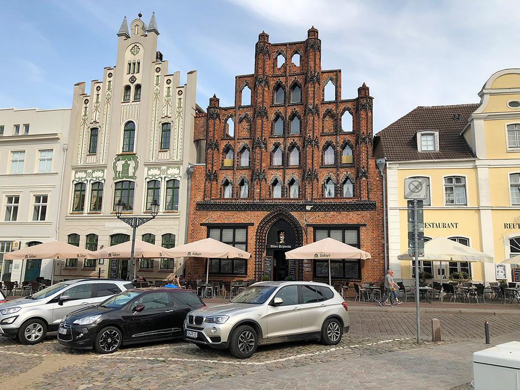 """Das alte """"Schwedenhaus"""""""