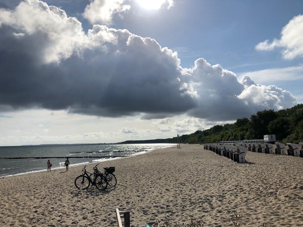 Strandspaziergang.
