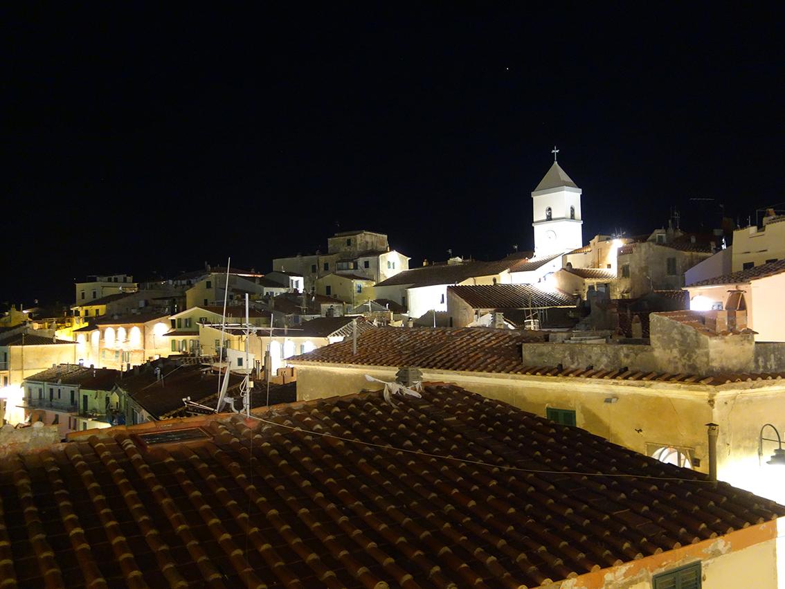 Abend über Capolivere