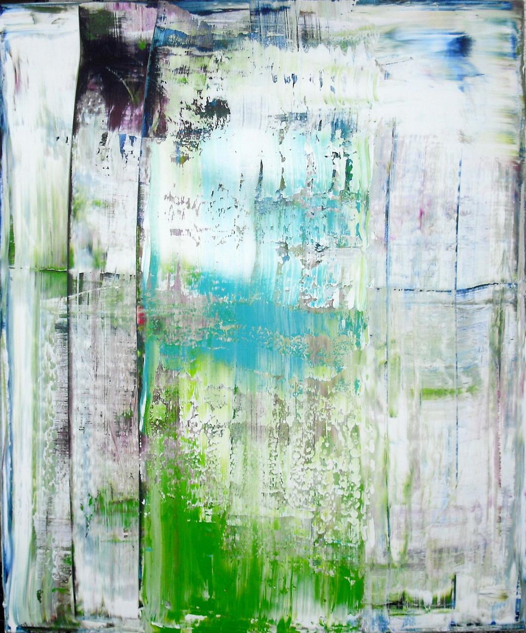 'Frühlingserwachen' (Acrylic on Canvas, 120x100cm)