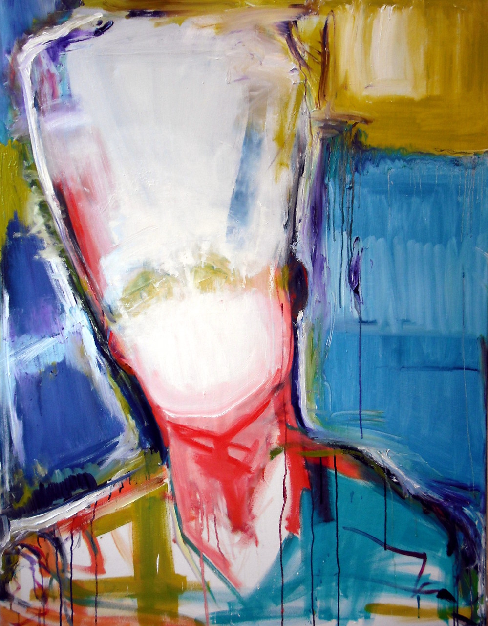 silent portrait (Oil on Canvas, 130x100cm)