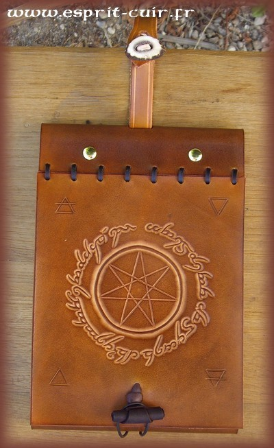 "Grimoire antique ""Heptagramme"""