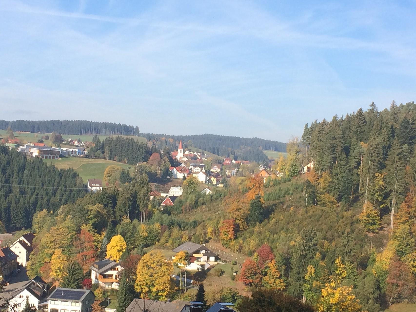 Schonach im Herbst