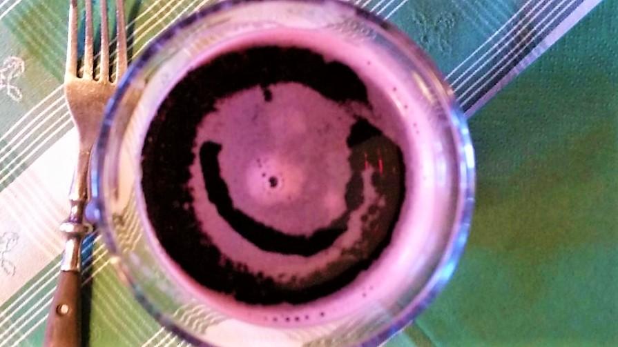 Das Lachen stand uns nicht nur im Gesicht... ich fand es auch im Saftschorle... :-)