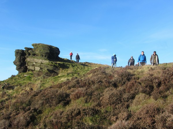 Guided walk on The Roaches