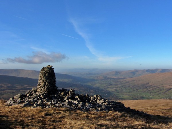 View down Dentdale from Knoutberry Hill