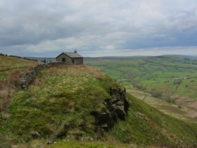 Shooting Cabin on Combs Edge