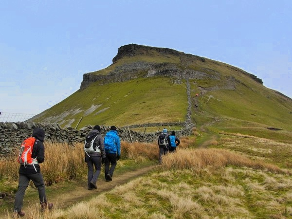 Pen-y-ghent guided walk
