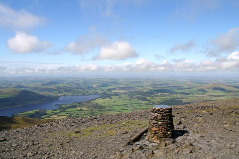 Summit of Skiddaw. Photo by Dreamstime.com
