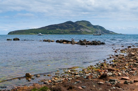 View from Lamlash Bay