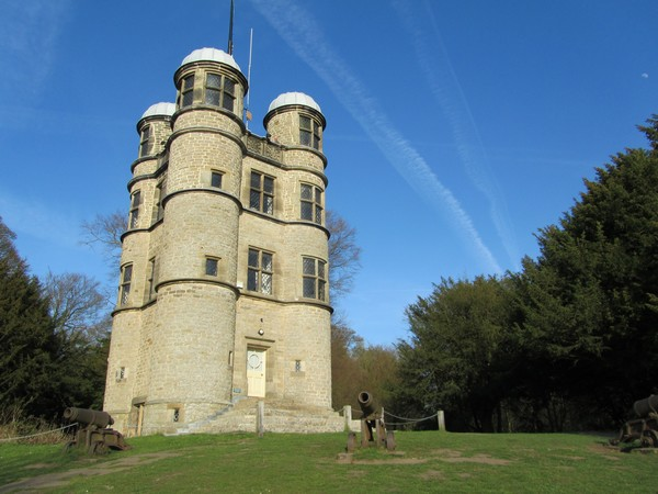 The Hunting Tower at Chatsworth