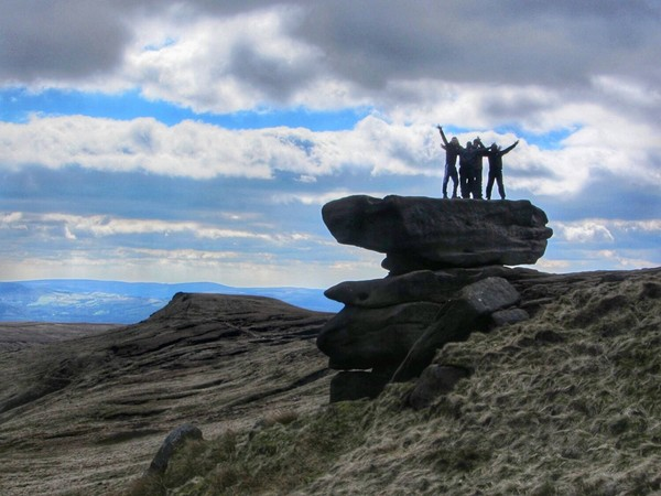 The Noe Stool, Kinder Scout