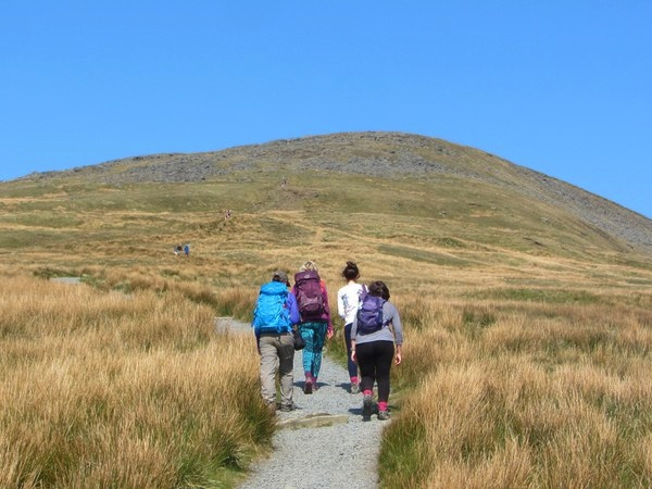 Ascent of Ingleborough