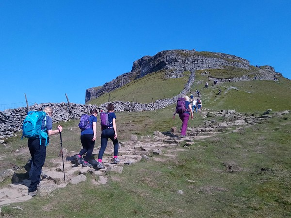 Ascent of Pen-y-ghent